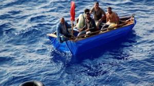 arresto cubanos emigrantes