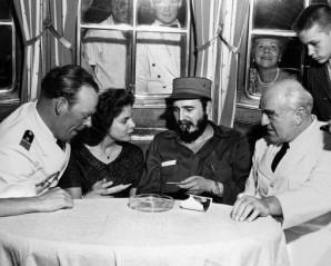 La primera amante de Fidel Castro