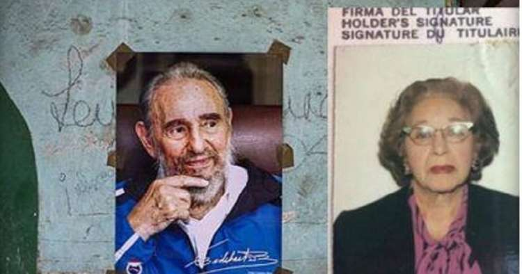 La mujer que salvó a Fidel Castro