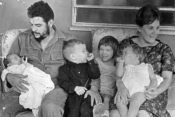 Los hijos de Ernesto Guevara