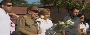 Asiste Raúl Castro a funeral de su hermana