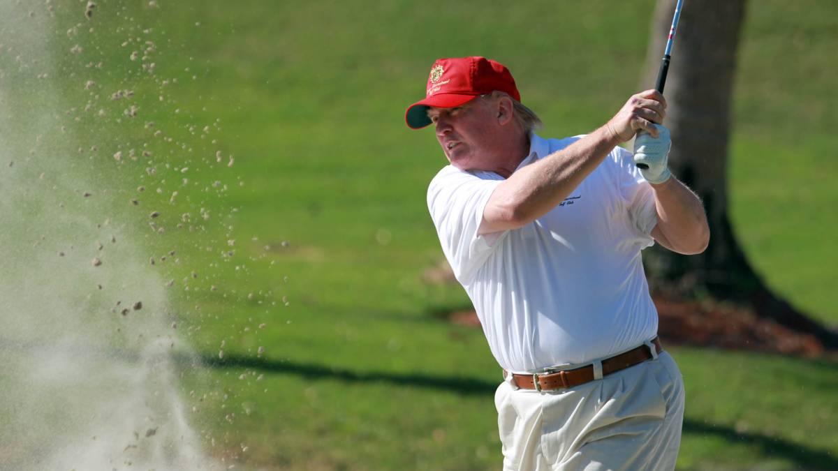 ¿Sabes cuántos campos de golf tiene Trump?