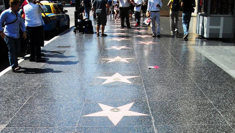 Cubanos en el paseo de la fama de Hollywood