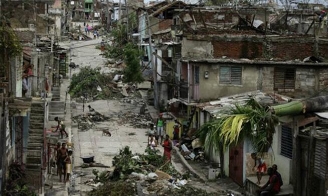 Cuba es uno de los países más afectados por desastres naturales