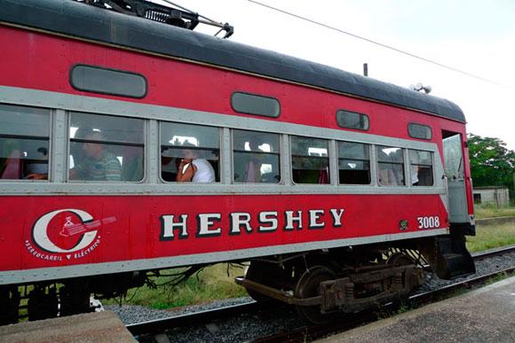 La agonía del tren de Hershey