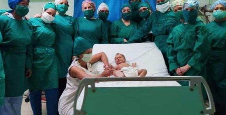 Niña de nueve meses vence a la Covid-19 en Cuba
